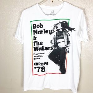 Bob Marley Graphic Tee Size Large